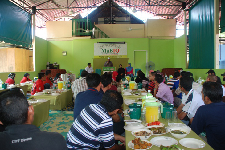 Management & Staff Lunch with Yayasan MABIQ